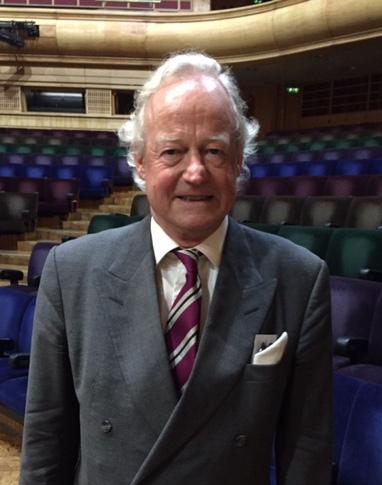 Edward Clark, President of the UK Sibelius Society